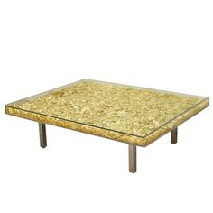Table d'orée by Yves Klein   From a unique collection of antique and modern coffee and cocktail tables at http://www.1stdibs.com/furniture/tables/coffee-tables-cocktail-tables/