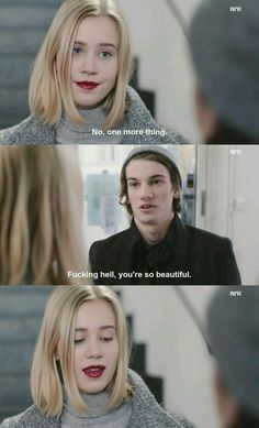 I've never closed and thrown away my computer as fast as I did after this scene! yeah he's a fuckboy but .AAAAAAH (do you get me?) thank you for saying what we all thought William. Skam Noora And William, William Skam, Movies Showing, Movies And Tv Shows, Series Movies, Tv Series, Noora Style, Noora Skam, Skam Isak