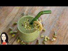 Pistachio Mint Green Breakfast Smoothie! - YouTube