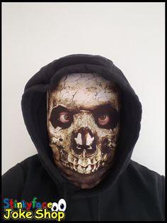 Mummy Skeleton Face Mask