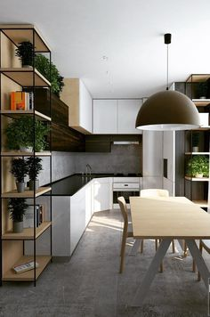 #Interior #design #decoration #home Modern Kitchen