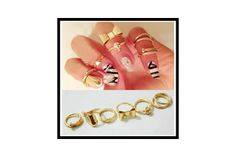 [Visit to Buy] ZOSHI Rhinestone Crystal bow Knuckle Midi Rings Gold Color Finger Rings anillos mujer Ring Set Bague anillos de For Women Cheap Jewelry, Jewelry Accessories, Jewelry Rings, Cheap Rings, Silver Jewelry, Jewlery, Jewelry Watches, Unique Rings, Jewelry 2014