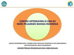 CONTOH KETERKAITAN KI DAN KD MATA PELAJARAN BAHASA INDONESIA>