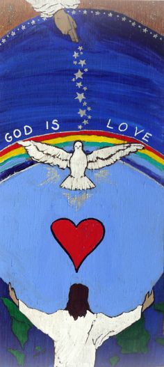 """Who is God? The Bible verses 1 John 4:8 and 1 John 4:16 say that, """"God is love."""""""