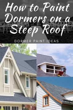 Dormers are great for bringing out the aesthetics of a house. They even keep away the gloomy vibe from the room by letting in extra light. However, the problem appears when you try to paint it. Painting on a roof that steep can be quite a challenge. So, how to paint dormers on a steep roof? Read more #paint #roof #howto #dormers #guide Home Decor Paintings, Cool Paintings, Best Cabinet Paint, Painting Cabinets, Painting Tips, Step Guide, Cleaning Hacks, Challenge, Aesthetics