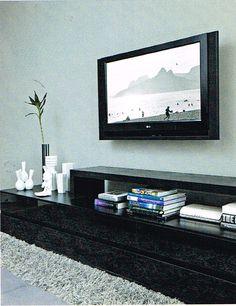 Home Theather TV Gavetas nicho