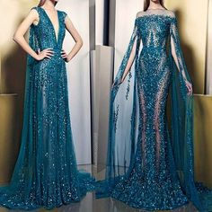 """9e7b106e910  fashion1couture on Instagram  """" ziadnakad  hautecouture"""". Prom Dresses ..."""