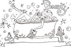 Jills beauty tekening!