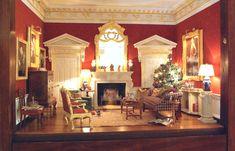 Christmas spirit at the world's premier Dollshouse Show
