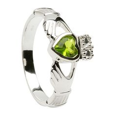 Beautiful --> August Claddagh Ring