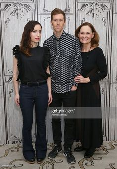 Actress Zoe Lister-Jones, filmmaker Daryl Wein and actress Beth Grant attend AOL BUILD Series: 'Consumed' at AOL Studios on November 20, 2015 in New York City.