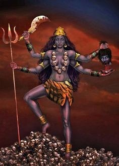 Kali Goddess of Death | Kali -the goddess of the death and enlightenment