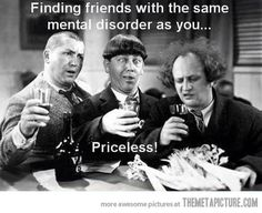 Finding good friends…