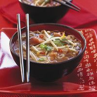 Ricardo& Recipe : Pho Soup (Beef and Noodle Soup) Easy Soup Recipes, Rice Recipes, Asian Recipes, Cooking Recipes, Chicken Udon Noodles, Beef And Noodles, Healthy Vegetable Recipes, Healthy Vegetables, Asian Vegetables