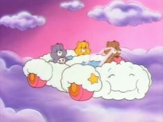 Care Bears cloud car