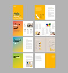 minimalist annual report layout design google search layout