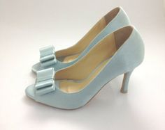 Something Blue Wedding Shoes, Powder Blue Wedding Shoes, Tiffany Blue Wedding Shoes, Robin Egg Blue Wedding Shoes, Pastel Blue Wedding Shoes