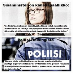 Finnish ministery on Home Affairs says that every refugee's (about 32 000) background is known. Why is she lying? At the same time the police authorities say that they are unable to check everyone...