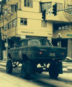 Winter Transport #Mercedes #Fintail #MercedesBenzofHuntValley: