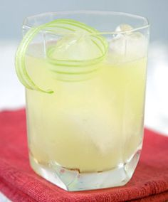"""A simplified, at-home version of a celery gimlet, this cocktail was inspired by salt and vinegar, which bartender Naren Young of New York's Saxon + Parole claims """"hit your palate in places that other ingredients and acids simply don't."""""""