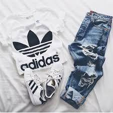 vestiti tumblr adidas