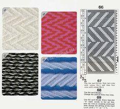Изображение Card Patterns, Stitch Patterns, Knitting Stitches, Knitting Patterns, Slip Stitch, Optical Illusions, Knit Crochet, Mosaic, Outdoor Blanket