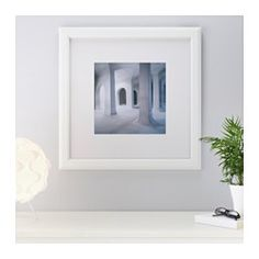 IKEA - VIRSERUM, Frame, The mat enhances the picture and makes framing easy.The mat is acid-free and will not discolor the picture.