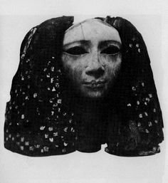 Photo: Lady with a Wig, Egyptian, twelfth dynasty (1991-1786 BC)