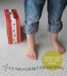 Great tips for packing and traveling with kids...
