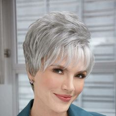 1000+ images about Short Gray Hair Styles on Pinterest ...