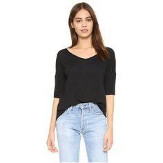 Sleeve tee black long sleeve top black pocket t shirt pinteres