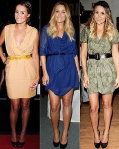 Lauren Conrad's Top 10 Style Secrets//CINCH YOUR BELTS Conrad loves to highlight her waist-she believes is there's no better ally than a great belt. Pair them with everything from draped dresses to minis to oversize tops to reign in voluminous fabric and create an hourglass shape.