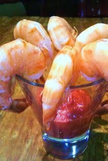 HCG DIET Phase 2 P2 recipe: Peel & Eat Shrimp with Cocktail Sauce
