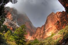 Zion National Park, Emerald Pools Hike. Breathtaking.