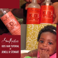 Jenell B Stewart uses SheaMoisture Baby products on her sweet baby daughter Elle. Watch a tutorial of her routine.