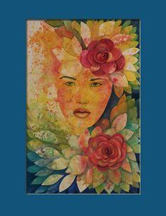 Decoupage, Folk, Watercolor, Painting, Art, Pen And Wash, Art Background, Watercolor Painting, Watercolour