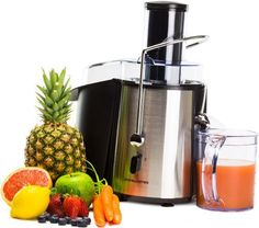 Andrew James Professional Whole Fruit Power Juicer 990 Watts, Includes 2 Year Warranty, Juice Jug And Cleaning Brush by Andrew James, http://www.amazon.co.uk/dp/B003Q82Q3C/ref=cm_sw_r_pi_dp_-0uttb1Z73Q1Z
