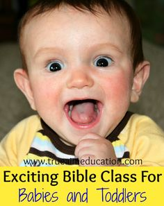 Use this class in your church's nursery or toddler class.  A hands on way to teach young children about God's creation.