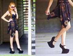 DIY Cosmic Skirt on my blog