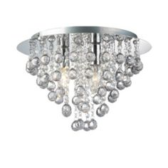 Collection Olivia 3 Light Ceiling Ing Clear Chrome At Argos Co Uk Your Online For And Wall Lights Lighting H S Room
