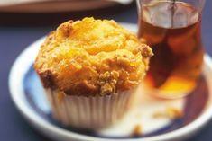 Kijk wat een lekker recept ik heb gevonden op Allerhande! Mandarijnenmuffins