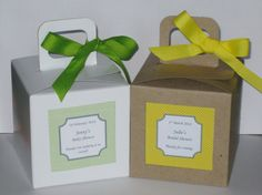 Custom Cupcake box with inserts,Custom favor box, Personalized  Favor box 4X4X4 white and kraft  box 12 ct on Etsy, $22.00