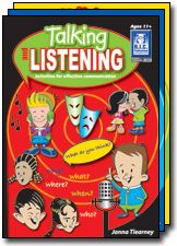 Talking and Listening. Oral language, listening topics, contemporary and fun activities and teacher notes.