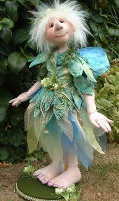 Spring Fairy with Janet Clark
