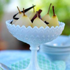 Inkokta päron Pudding, Desserts, Food, Tailgate Desserts, Deserts, Custard Pudding, Essen, Puddings, Postres