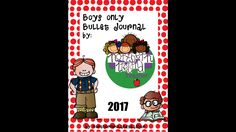 Bullet Journal Planner 2017 for boys only - no pink!  Age 3-9 years. by Teachnorthernireland on Etsy