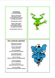 Mariaslekrum Learn Swedish, Swedish Language, Kids Poems, Montessori, Reggio Emilia, Kindergarten, Singing, Preschool, Education