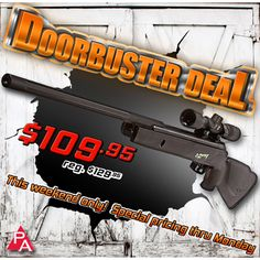 Doorbuster Deal: Gamo Zombie Air Rifle Combo  Take to the hills with the rest of the survivalists and remember to bring along the special pellets included with your air rifle.  http://www.pyramydair.com/s/m/Gamo_Zombie_Air_Rifle_Combo/2937?utm_source=pinterest_medium=social_campaign=doorbuster-Gamo-Zombie-Air-Rifle-Combo