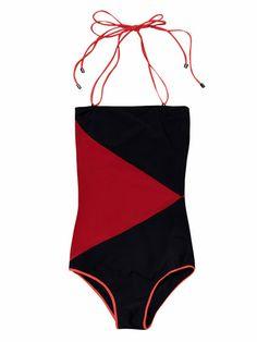 983df6928e1d ROKSANDA ILINCIC Rodez diamond-block swimsuit