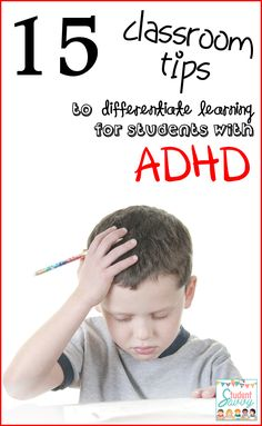 StudentSavvy: 15 Strategies to Help Students with ADHD